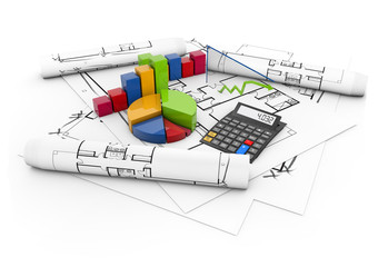 real estate project costs concept