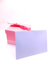 プレゼントと招待状
