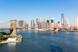 Brooklyn Bridge and Downtown Skyline in New York - 71168952