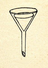 Funnel with paper filter