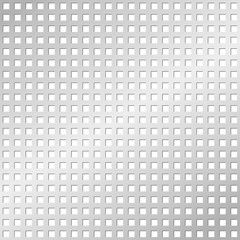 Perforated metal plate, seamless tileable
