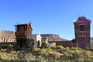 Village fantôme à Las vegas
