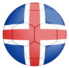 Soccer Ball Iceland