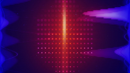 equalizer audio waveform loopable background