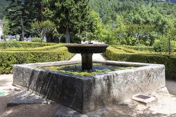 Garden of the Infanta. Madrid. Spain