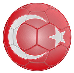 Soccer Ball Turkey