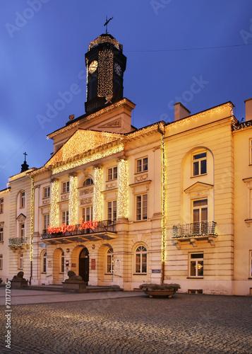 City hall in Plock. Poland