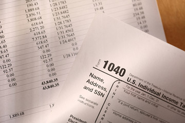 Tax form and budget