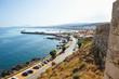 Постер, плакат: Вид на город Ретимно с крепости Фортецца Греция Крит