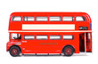 London Bus Isolated with Clipping Path - 71173327