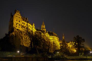 Schloss Sigmaringen bei Nacht