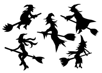 set of witches