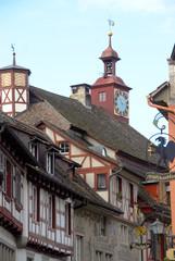 Historisches Fachwerk-Ensemble in Meersburg