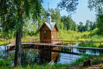 Святой источник Преподобного Тихона Лухского.