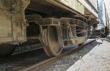old wheels train