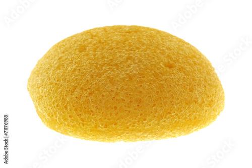 Leinwandbild Motiv natural facial Sponge made of vegetable fiber, Konjac
