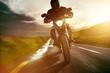 Leinwandbild Motiv Motorbike