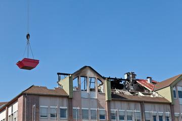 Nach dem Brand