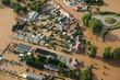 Leinwanddruck Bild - Hochwasser/Überschwemmung