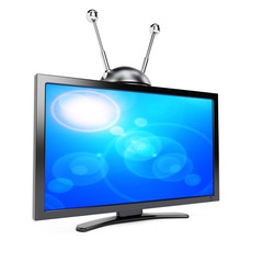 TV with antenna