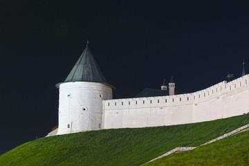 Kazan Kremlin at night