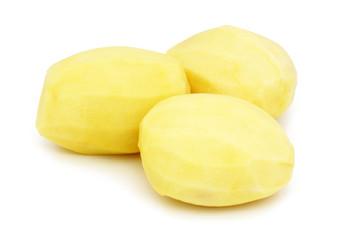 Pommes de terre épluchées