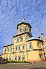 Peter and Paul cathedral in Kazan