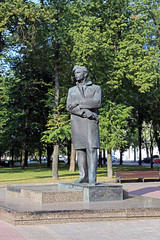 Monument to Maxim Bogdanovich