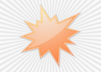 star burst flash  splash star icon