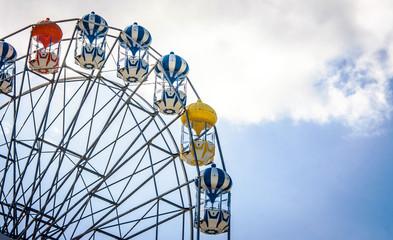 Ferris Wheel on cleary sky
