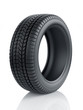 High detaled winter tyre isolated