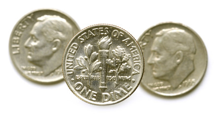One dime