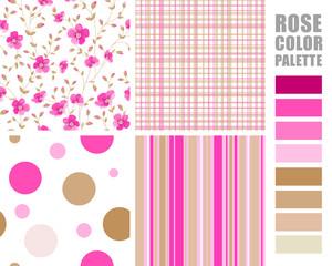 Fabric pattern.