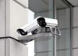 Leinwanddruck Bild - Überwachungskamera