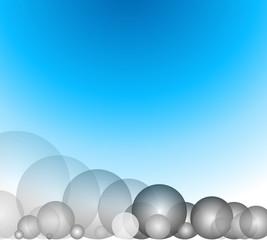 vector Illustration blue circle