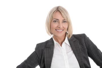 Portrait: Frau erfolgreich im Beruf - leitende Position