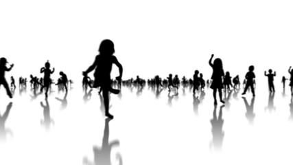 Dancing children animation