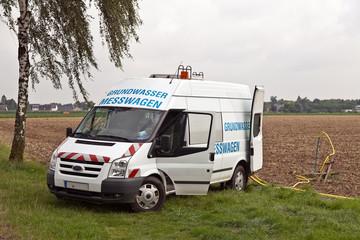 Grundwasser-Messwagen