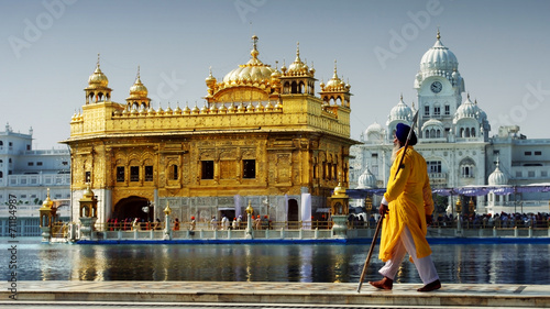 canvas print picture Amritsar