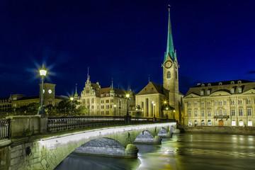 Ночной Цюрих