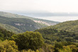 Vue vers la mer depuis le village de Labin