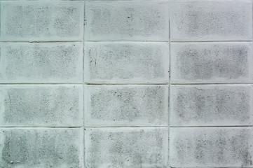 Concrete block wall pattern
