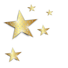 weihnachten hintergrund stern papier gold