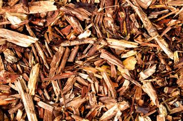 Mulching bark wooden texture