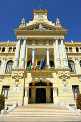 City Hall, Malaga, Spain