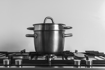 Stainless steel cooker