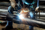 Welder at work - 71188366