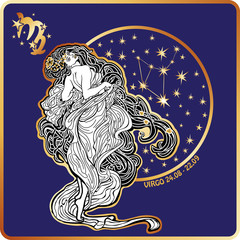 Horoscope.Virgo zodiac sign