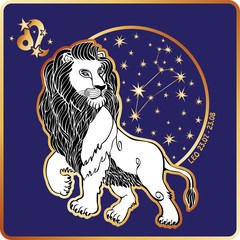 Horoscope.Leo zodiac sign