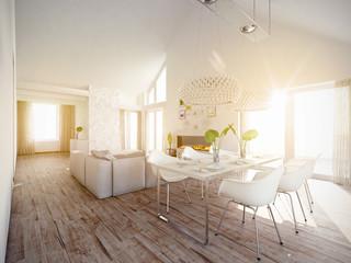 Wohnzimmer in Giebelhaus Galerie
